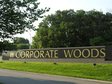 Corporate Woods sign (image)