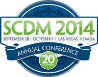 SCDM 2014: Sept 28-Oct 1 in Las Vegas, Nev., 20th annual conference